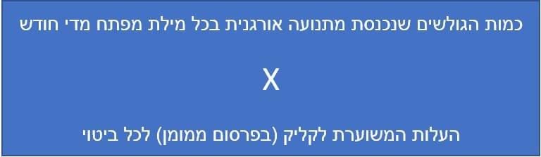 חישוב שווי טראפיק ב- ahrefs